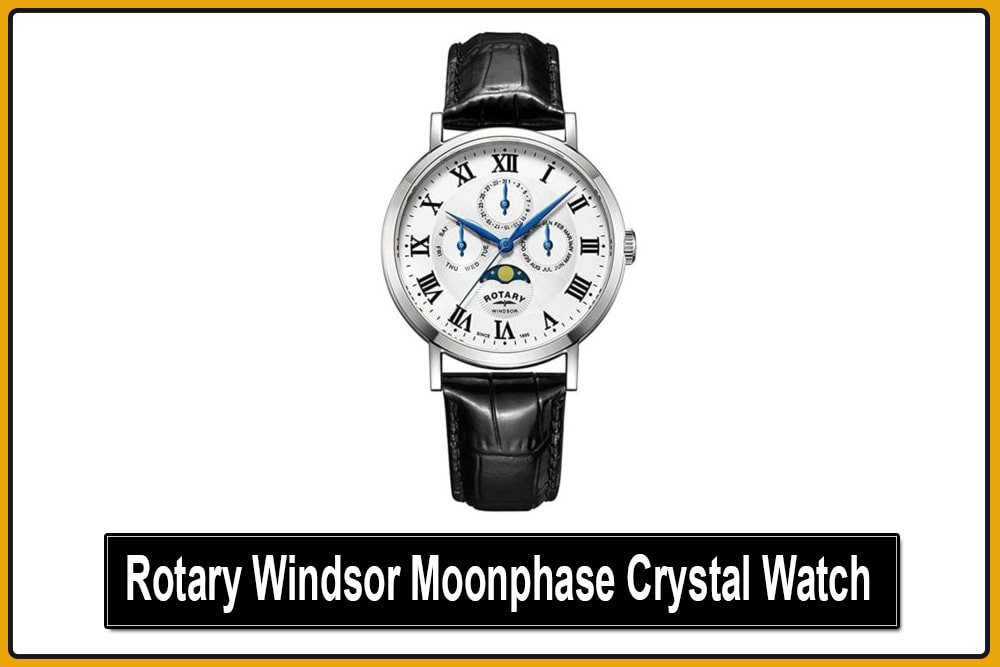 Rotary Windsor Moonphase Watch