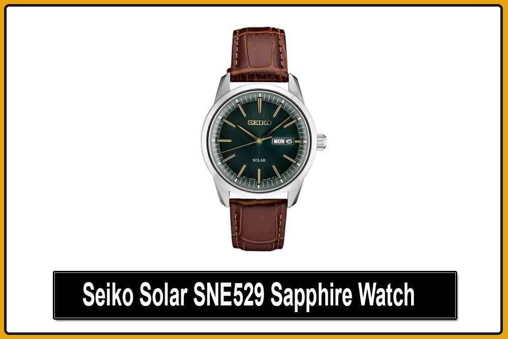 Seiko Solar SNE529