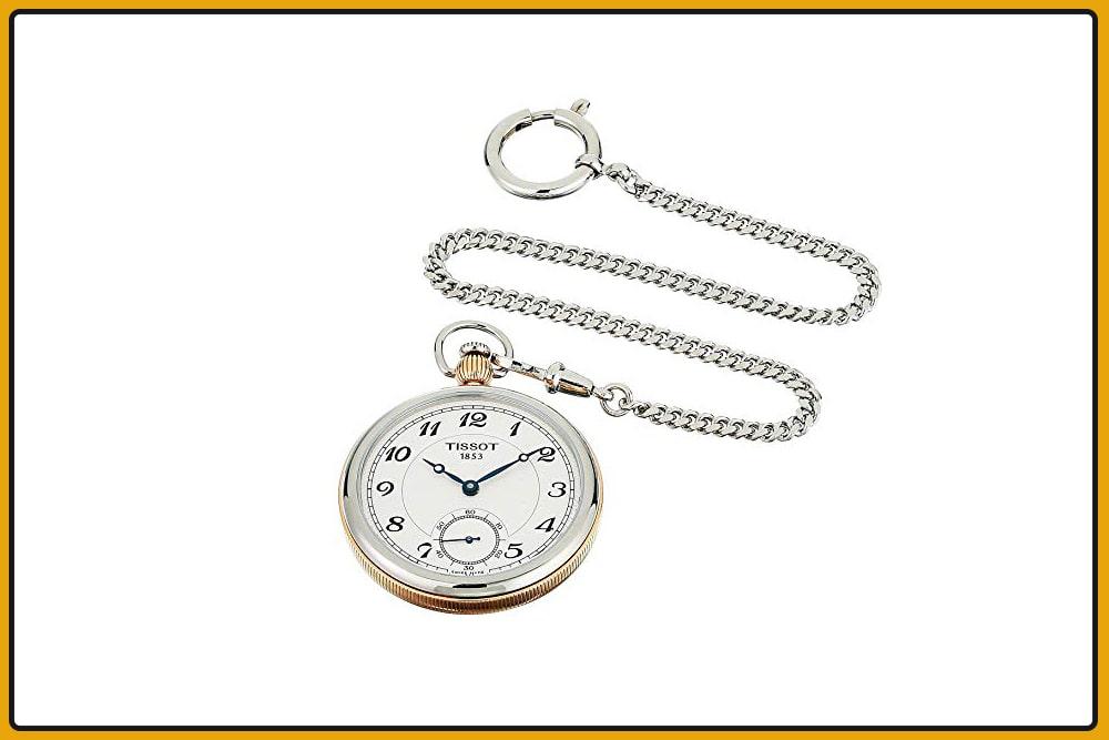 Tissot Bridgeport Lepine Mechanical Pocket Watch