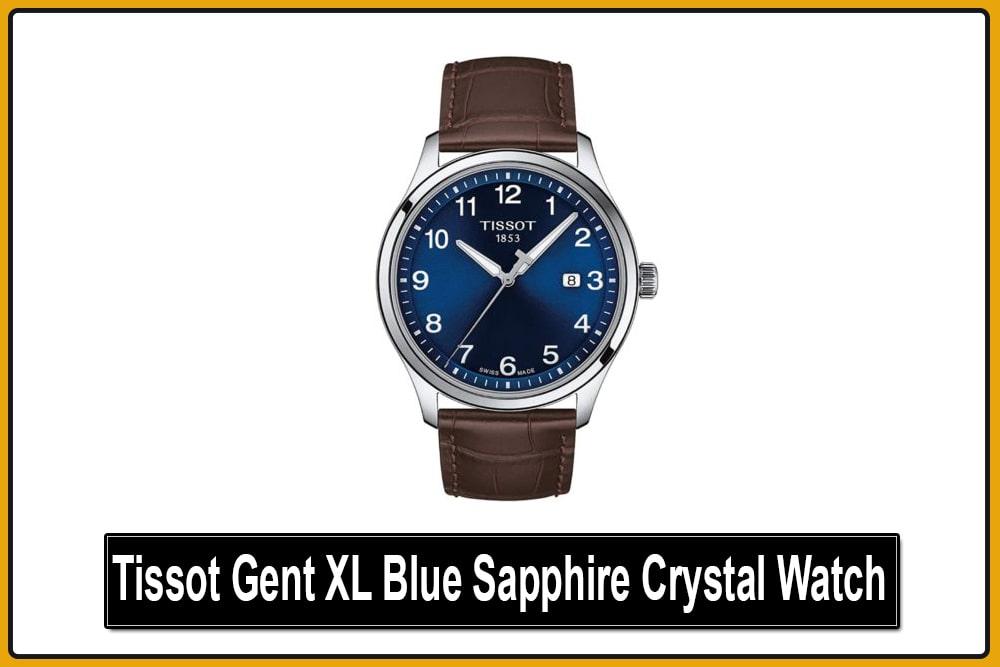 Tissot Gent XL Blue Sapphire Crystal Watch